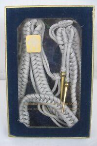 East German DDR NVA Volksmarine  Navy Officer Parade Shoulder Cord Aluminum Wire