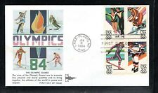 1984 Sc#2067-70 14th Winter Olympic Games Gill Craft Cachet FD Cover (p)