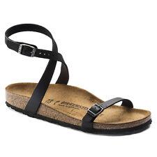 NEW Women's Birkenstock DALOA Birko-Flor BLACK Sandals Size 42 US 11-11.5