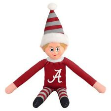Alabama Crimson Tide Plush Christmas Elf -NCAA Doll On The Shelf Stuffed Toy