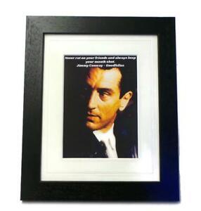 GOODFELLAS Quote Canvas Art Print Framed Or Unframed Gangster Movie Memorabilia