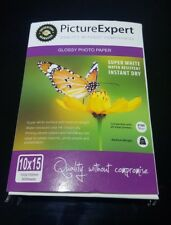 Picture Expert glossy photo paper, super white, water resistant, instant dry.