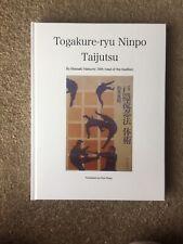 Togakure-ryu Ninpo Taijutsu, Masaaki Hatsumi Translation Hardback Ninjutsu