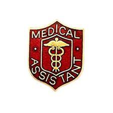 Medical Assistant Lapel Pin Caduceus Professional Emblem Graduation Pins New 818