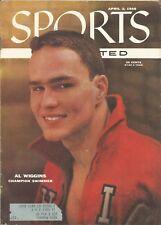 Ohio State Buckeyes Swimmer Al Wiggins 1956 Sports Illustrated Summer Olympics