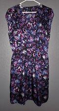 Kenneth Cole New York Women's Dress V Neck Sleeveless size M