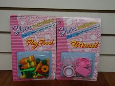 Gloria ,Barbie Doll House Furniture/(9502-1&3) Play Food & Utensil