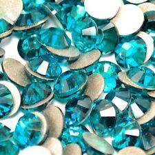 20 STRASS cristal SWAROVSKI Bleu Zircon 2,1 mm Nail Art bijoux déco d'ongles