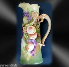 Jean Pouyat Limoges tankard with dragon handle - HP  FREE SHIPPING