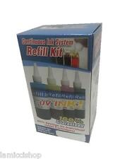 4 Colors Dye Refill Ink Kit for CIS of HP10 HP11 cartridge