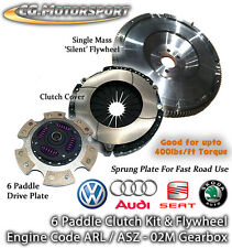 6 Spd VW Tiguan 2.0 TDi CBAB CFFB 140 Single Mass Flywheel & 6 Paddle Clutch SMF