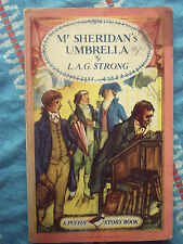 Puffin Book PS45 Mr Sheridan's Umbrella by L.A.G.Strong 1949 Regency Brighton