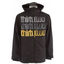 THIRTYTWO Men's SHAKEDOWN SNOWJACKET - Black - Small  NWT - Reg $280