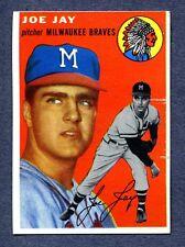 1954 Topps #141 Joe Jay (R) -  Cincinnati Reds  NM+