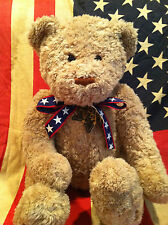 "GUND 26"" WISH BEAR~100TH ANNIVERSARY OF THE TEDDY BEAR 1902-2002 star tag"