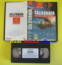 film VHS CALIFORNIA DAL GRAND CANYON A SAN DIEGO DeAgostini 1996 (F69*) no dvd