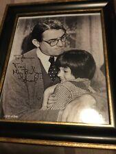 Mary Badham (Scout) To Kill A Mockingbird Original Autograph