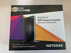 NETGEAR WiFi Range Extender EX7000 AC1900 Wireless Signal Booster W/ Original