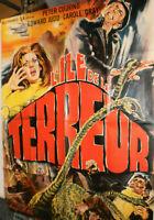 XL Filmplakat,Plakat,L ILE DE LA ,TERREUR,PETER CUSHING,EDWARD JUDO #111