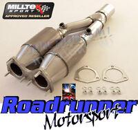 Milltek Exhaust Golf R32 MK5 High Flow Sports Cats Stainless 200 Cell MSVW284
