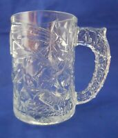 Batman McDonald's 1995 Batman Forever Glass Promotional Clear Coffee Mug Cup