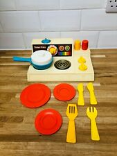 Vintage Fisher Price Kitchen Set - 1970s No 919 Toy Collectable