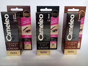 REAL PROFESSIONAL SALON QUALITY HENNA CREAM Eyebrows Eyelashes Colour Set Dye