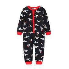 Boys size 1  Black jet pilot  sleepsuit all in one  pyjamas  pjs UCC  NEW