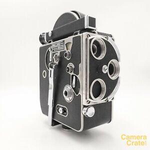 Paillard Bolex H16 Deluxe 1950 16mm Cine Film Camera - Fully Working S8-4150