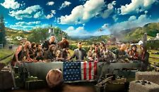 Far Cry 5 Gaming Poster Print Wall Art | All Sizes Available | UK Seller E215