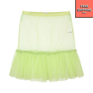 SO TWEE BY MISS GRANT Tulle Flounce Skirt Size 38 10-11Y 134-140CM See Through