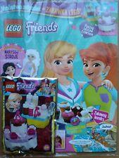 LEGO Friends Magazine 1/2020 + Limited Edition Mini Figure - delicious cake set