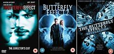 Butterfly Effect Complete All Movies 1 2 3 Trilogy Film Collection DVD [3 Discs]