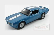 Pontiac Firebird Trans-Am 1972 Blue Met White WELLY 1:24 WE24075BL