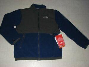 The North Face Benny Fleece Jacket for Boys Blue/Navy Sz L/XL - NWT $160