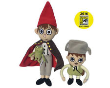 OVER THE GARDEN WALL GREG WIRT FROG PLUSH SET 2016 SDCC COMIC CON EXCLUSIVE