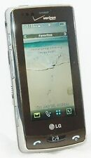LG VX9600 Versa Verizon Cell Phone CHROME BEZEL Touch Screen 2.0 MP Camera vCast
