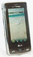 LG VX9600 Versa Verizon Cell Phone CHROME BEZEL Touch Screen 2.0 MP Cam vCast 3G