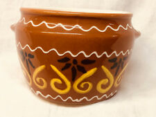 Waku Bean Pot Germany Feuerfest Gingerbread Pottery Bow