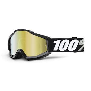 100% Accuri Bike/Cycle Goggles – Mirror Lens