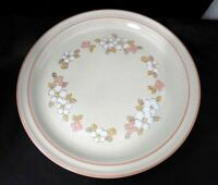 Chantilly Hearthside Stoneware Set of 2 Dinner Plates Fleur de Bois Japan Flower