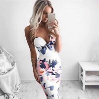 Womens Bandage Bodycon Sleeveless Evening Party Cocktail Club Short Mini Dress L