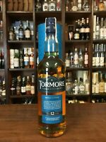 TORMORE 12 YEAR OLD SINGLE SPEYSIDE MALT SCOTCH WHISKY CONFEZIONE REGALO 700 ML