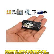 Mini Cámara de Video Espia DV Grabador Foto 5MP Audio Grabar Oculto Vigilancia