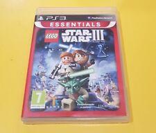 Lego Star Wars 3 III La Guerra dei Cloni The Clone War GIOCO PS3 VERSIONE ITA
