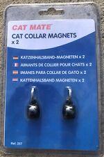 Cat Mate Cat Collar Magnets 2-Pack Ref 257