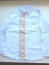 Chemise garçon Okaïdi 6 ans avec motif neuf avec étiquettes blanche et marron