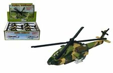 """HELICOPTER DISPLAY 8.5"""" SONIC GUNSHIP ALL-WEATHER ATTACK HELICOPTER Set Of 12"""