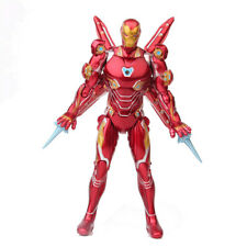 """Iron Man The Avengers Super Hero Light Up 6.7"""" Action Figure Collection Kids Toy"""
