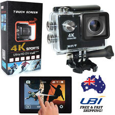 """S350 4K HD 1080P 2"""" JPEG MP4 Touch Screen Action Cam DV Camcorder Waterproof"""